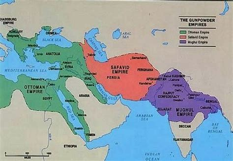 ottoman empire 1500 map this map shows the ottoman empire safavid empire and mughal empire 1500 1700 ad this was map