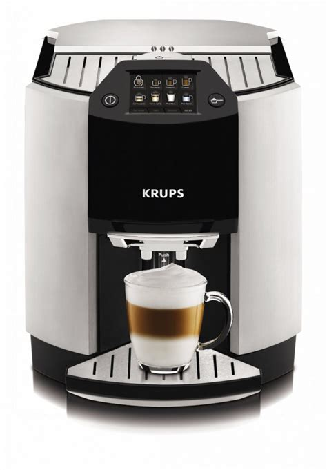 KRUPS EA9000 Barista Full Automatic One Touch Espresso/Cappuccino Machine   Super Espresso.com
