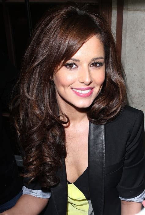 brunette celebrity hairstyles long hairstyles celebrity styles we love cheryl cole