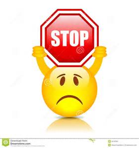 More similar stock images of smiley mit stoppschild qfhbea clipart