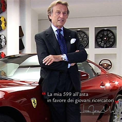 ferrari ceo ferrari ceo auctions his own 599 gtb for charity
