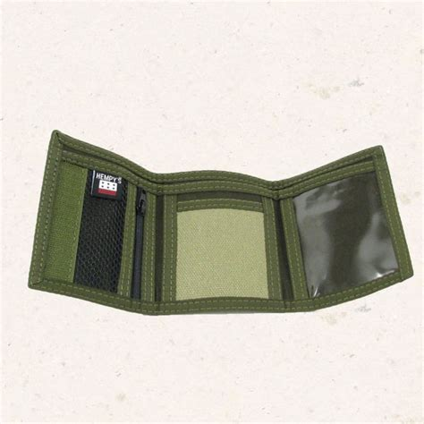 Wallet Patahan wallet green with green trim 2 green wellness