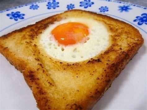recetas de cocina de huevos huevo en canasta receta recetas de cocina cientos de