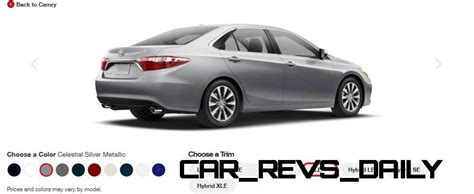Toyota Camry Car Colors 2015 Toyota Camry Xle Colors 11