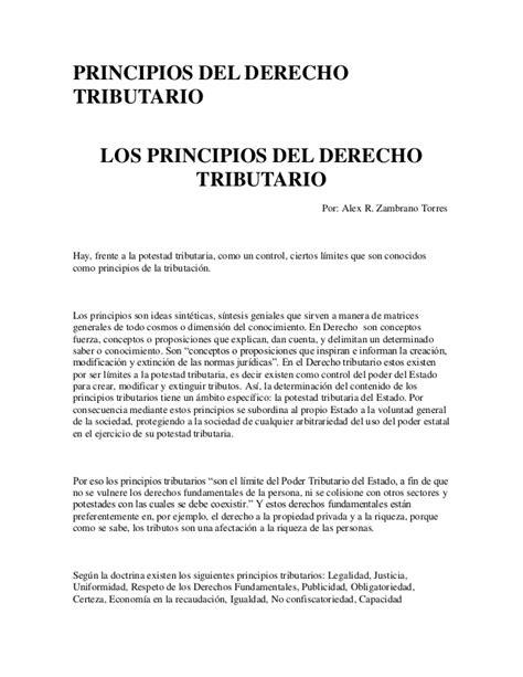 principios constitucionales del derecho tributario en principios constitucionales del derecho tributario en