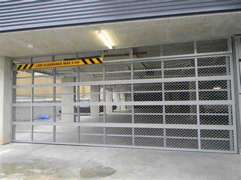selections small mesh overhead door best doors