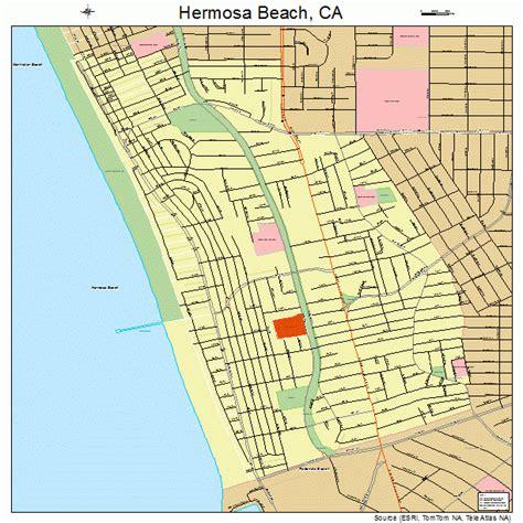 california map hermosa hermosa california map swimnova