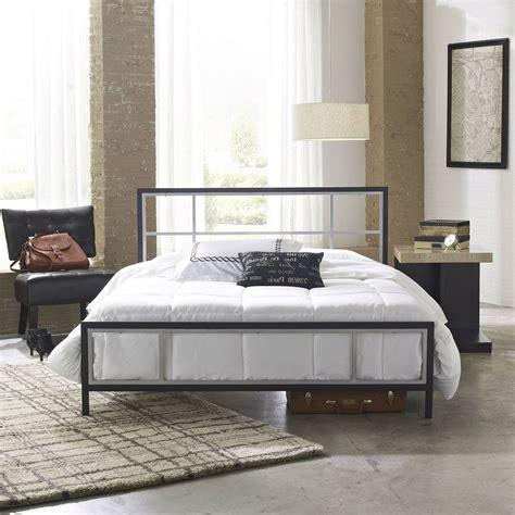 unique bedroom furniture uk size modern platform metal bed frame with headboard