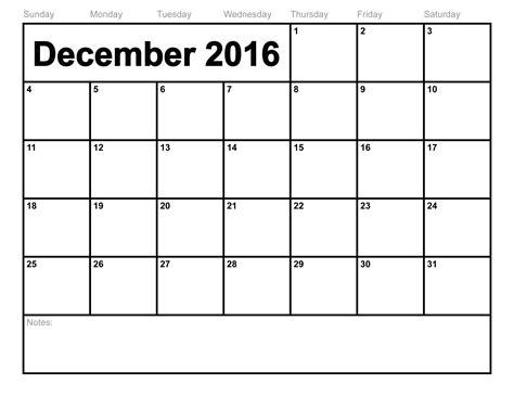 Fill In Calendar Template 2017