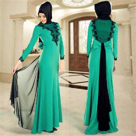 Dress Muslim Wanita Gamis Maxi Dress Turkey 4 til fresh dengan kreasi model baju muslim terbaru 2018