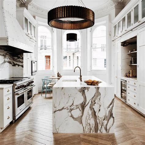 marble kitchen island best 25 white marble kitchen ideas on marble