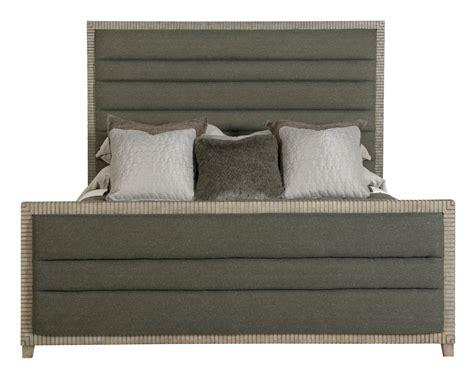 upholstered panel bed bernhardt