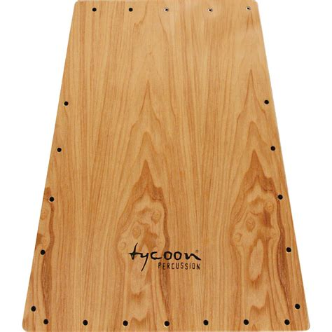 cajon replacement front plate tycoon percussion vertex series american ash front tkvxg 29rfp