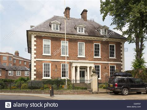 buying a grade 2 listed house 17th century grade ii listed newport house dogpole shrewsbury once stock photo