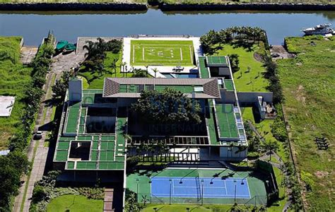 Neymar House neymar s new de janeiro mansion is pictures