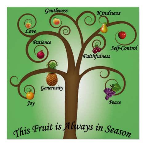 fruit of the spirit tree fruit of the spirit tree poster 20 quot x 20 quot zazzle