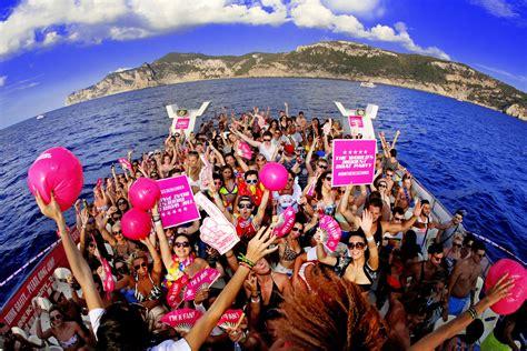party boat ibiza pukka up boat parties ibiza spotlight