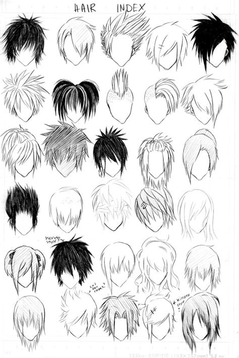 emo hairstyles drawing hair index revised by alyssinelysium on deviantart