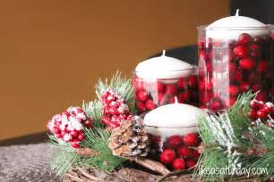 Holiday table decorations centerpieces decorating ideas