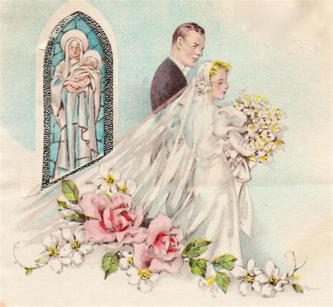 Wedding Card Vintage by A Vintage Cottage Home Blessing The Newly Married
