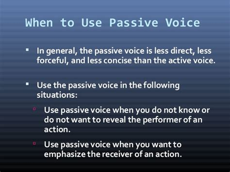 pattern of active voice to passive voice 02k activeand passivevoiceoffice2003 1