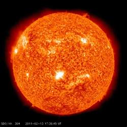 sun light solar sun unleashes solar flare towards earth richer
