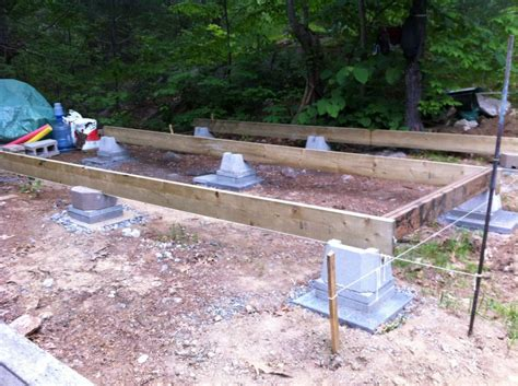 How To Build A Cabin Foundation by Foundation Options For A Small Cabin Studio Design