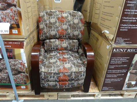 Recliners Costco by Synergy Tracy Fabric Recliner