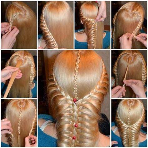 diy hairstyles with braids diy beautiful braided hairstyle