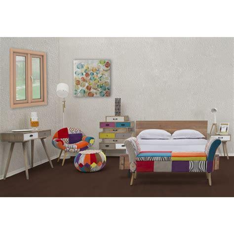 panche da da letto panca da ingresso o da letto in tessuto patchwork