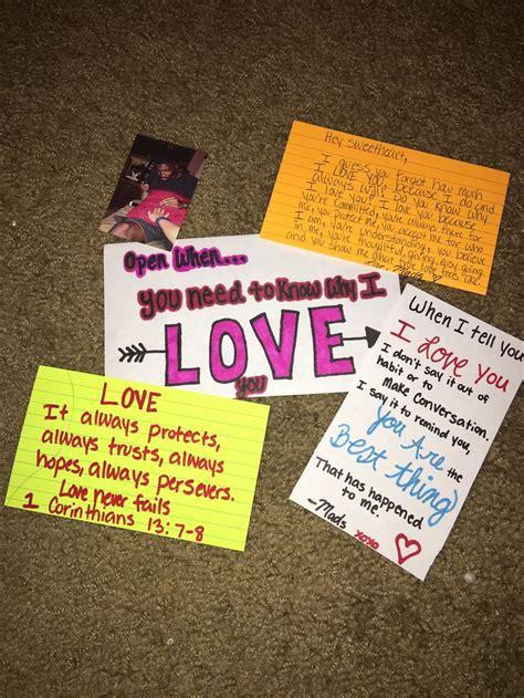 Letter Using Bible Verses 25 Best Ideas About Open When Letters On Ideas For Boyfriend Birthday