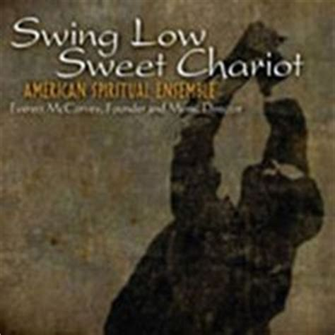 swing low sweet chariot negro spiritual 1000 images about negro spirituals album covers on
