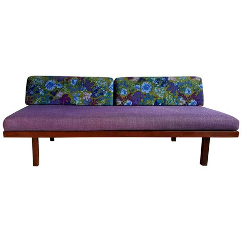 mid century inspired sofa mid century modern daybed sofa george nelson inspired at