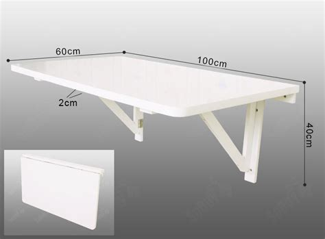 Wall Mounted Drop Leaf Table Sobuy Large Size Folding Wall Mounted Drop Leaf Table Desk 100x60cm Fwt06 W Uk Ebay