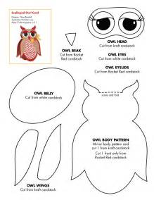 Free Templates For Crafts by Crafty Patti S Quilting And Crafts Owl Template