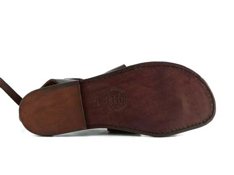 Italian Handmade Flats - brown genuine italian leather s flats sandals