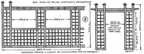 porticos y enrejados como hacer enrejados y porticos en