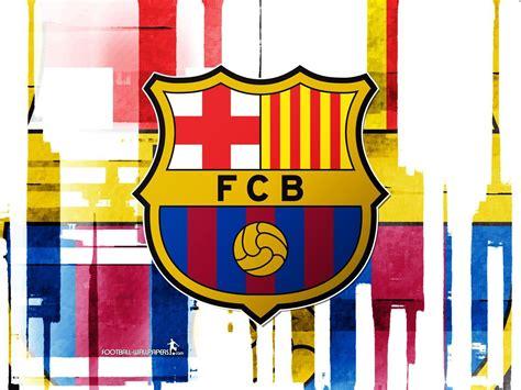 barcelona wallpaper border fc barcelona logo wallpapers wallpaper cave