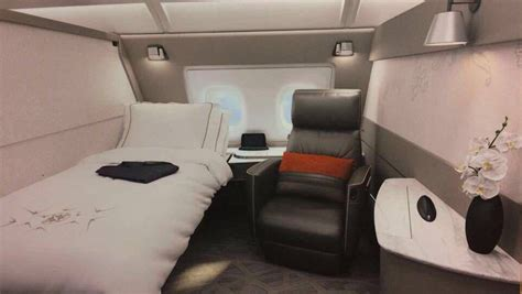 airbus a380 bedroom suite first photos of singapore airlines new a380 first class