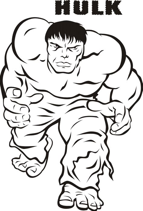 Hulk Coloring Pages To Print Free | free printable hulk coloring pages for kids