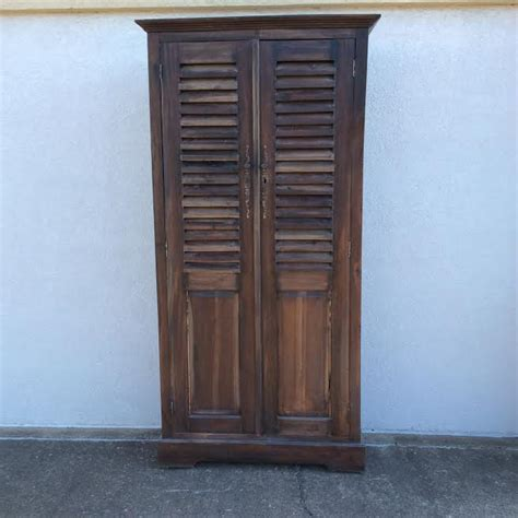 Louvered Cabinet Door Louvered Door Cabinet Nadeau Alexandria