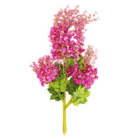 Decorative Vine Flowers 4 colors artificial silk wisteria garden hanging flower vine wedding decor at banggood