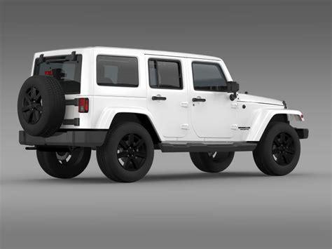2014 jeep wrangler unlimited altitude white top auto
