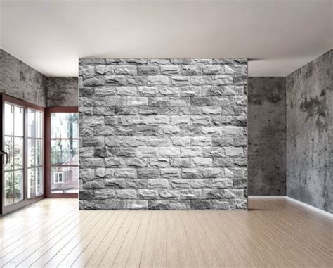 textured wall murals grey brick texture wall mural repositionable peel and stick material