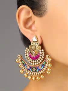 bridal jhumka earrings bridal jhumka collection 2015 just bridal
