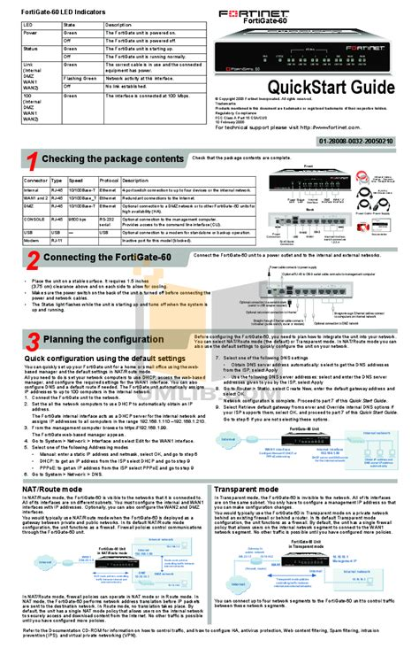 Router Fortinet free pdf for fortinet fortigate fortigate 60b