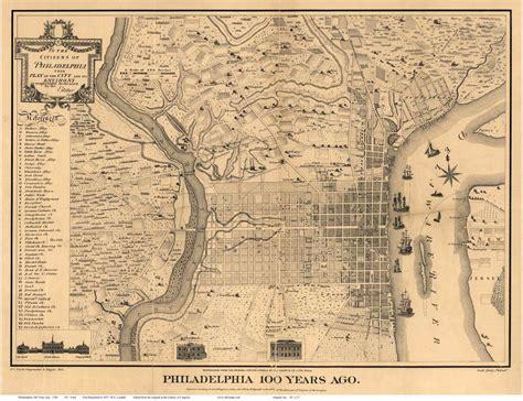 antique map of philadelphia maps of philadelphia pa