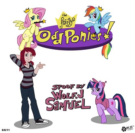 mlp fairly oddparents the fairly odd ponies by wolfjedisamuel on deviantart