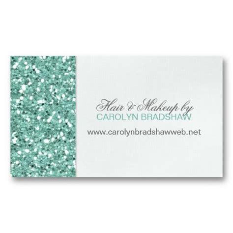 actual glitter business cards 7 card design ideas
