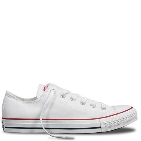 Converse White chuck all classic colour low top optical white